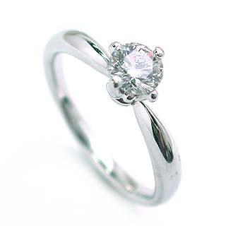 鑑定書付 婚約指輪 ダイヤモンド プラチナ リング エンゲージリング ダイヤモンド ダイヤリング 一粒 大粒 プロポーズ用 0.33ct