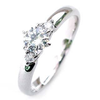 エンゲージリング ダイヤモンド ダイヤ プラチナ リング 婚約指輪 0.35ct【DEAL】