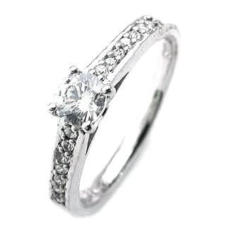 エンゲージリング ダイヤモンド ダイヤ プラチナ リング 婚約指輪 0.33ct 末広 スーパーSALE 今だけ代引手数料無料 開店祝 成人の日 通勤