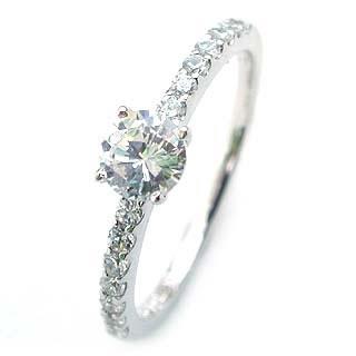 エンゲージリング ダイヤモンド ダイヤ プラチナ リング 婚約指輪 0.35ct