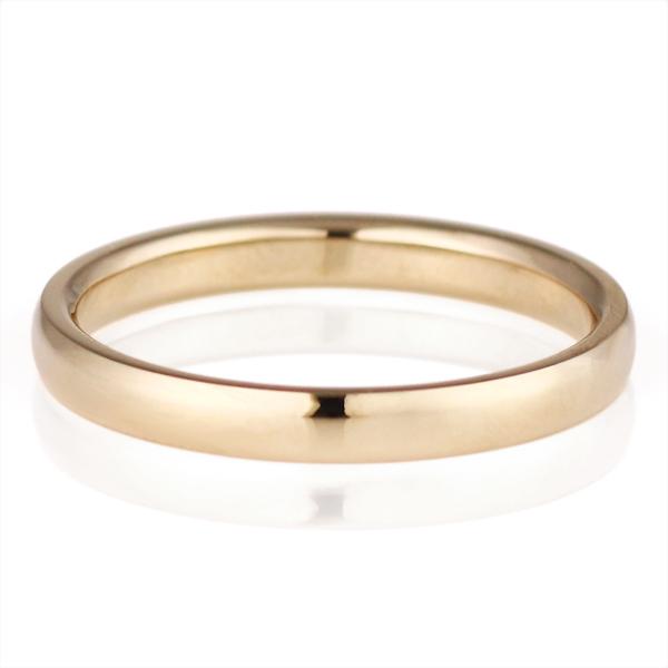 結婚指輪 マリッジリング ペアリング K18ハニーイエローゴールド Marron シンプル 人気 末広 スーパーSALE【今だけ代引手数料無料】