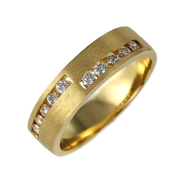 メンズ ダイヤモンド リング 指輪 イエローゴールド 18金 K18 18k ダイヤ 0.25カラット プレゼント 人気【DEAL】