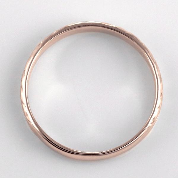 ハワイアンジュエリー メンズ リング 人気 ピンクゴールド 18金 K18 18k 幅約3mm 指輪 ファッション デザイン マイレ 楽ギフ 包装末広 スーパーSALE 今だけ代引手数料無料5q3ALc4RjS