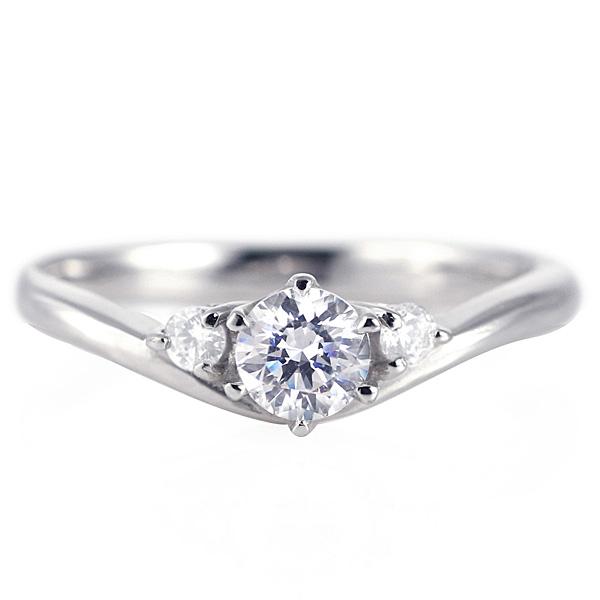 婚約指輪 ダイヤモンド プラチナリング 一粒 大粒 指輪 エンゲージリング 0.4ct プロポーズ用 レディース 人気 ダイヤ 刻印無料 6月 誕生石 ムーンストーン