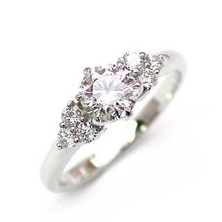 エンゲージリング 婚約指輪 ダイヤモンド ダイヤ プラチナ リング 0.35ct