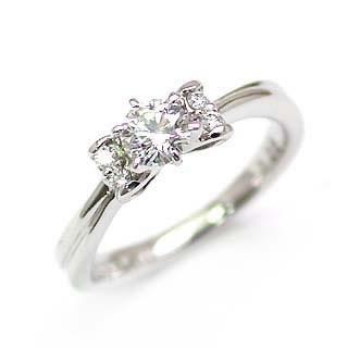 エンゲージリング 婚約指輪 ダイヤモンド ダイヤ プラチナ リング 0.33ct【DEAL】