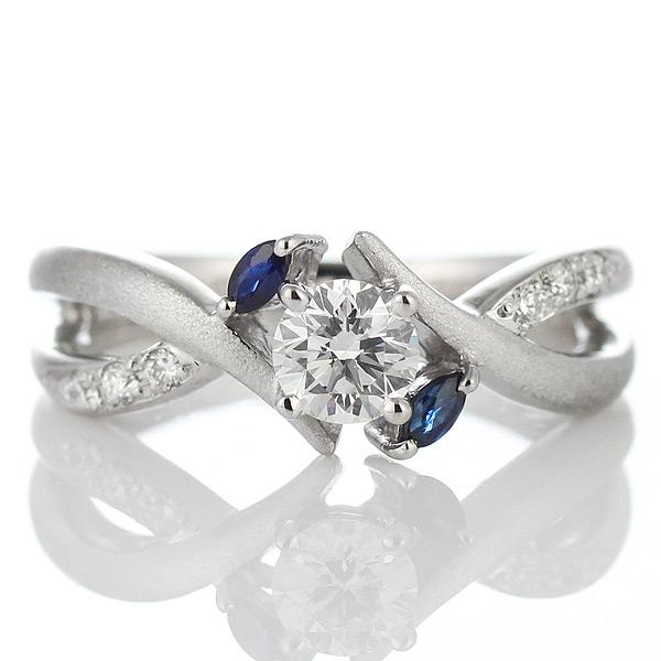 (Brand アニーベル) Pt ダイヤモンドリング(婚約指輪・エンゲージリング)
