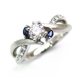(Brand アニーベル) Pt ダイヤモンドリング(婚約指輪・エンゲージリング) 末広 スーパーSALE【今だけ代引手数料無料】