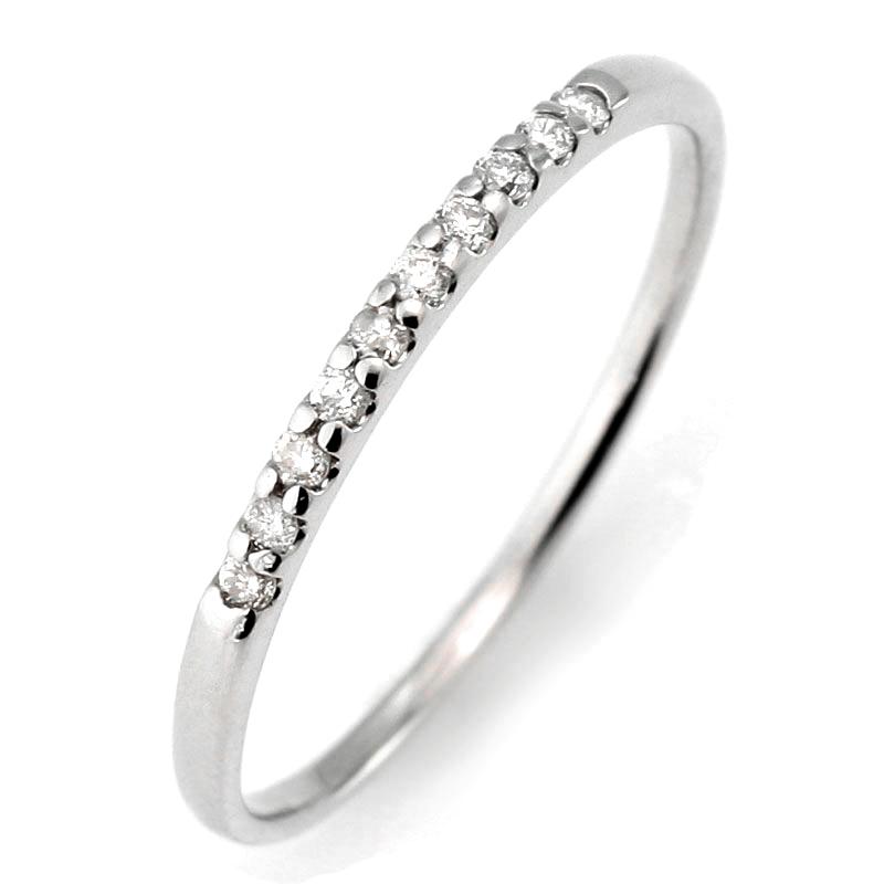 メンズリング ペアリング 結婚指輪 マリッジリング ダイヤモンド エタニティ リング エタニティ-QP【あす楽対応】 末広 スーパーSALE【今だけ代引手数料無料】