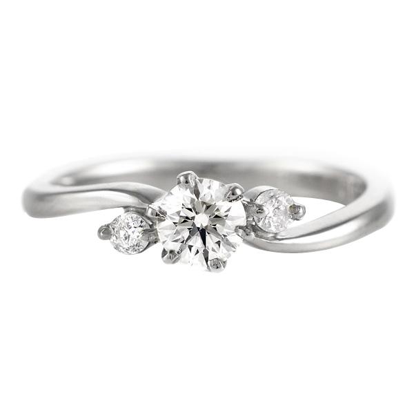 CanCam掲載( 4月誕生石 ) Pt ダイヤモンドリング(婚約指輪・エンゲージリング)