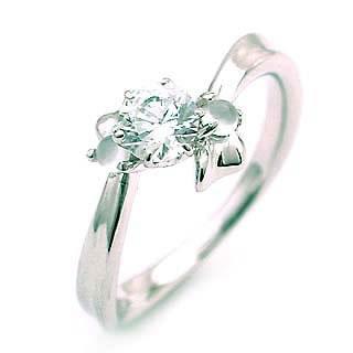 ( 6月誕生石 ) ムーンストーン Ptダイヤリング(婚約指輪・エンゲージリング) 【DEAL】 末広 スーパーSALE