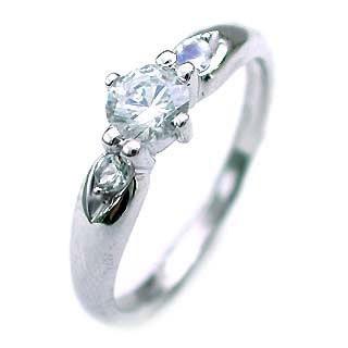 ( 6月誕生石 ) ムーンストーン Ptダイヤリング(婚約指輪・エンゲージリング) 末広 スーパーSALE【今だけ代引手数料無料】
