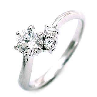 CanCam掲載( 4月誕生石 ) Pt ダイヤモンドリング(婚約指輪・エンゲージリング)【DEAL】