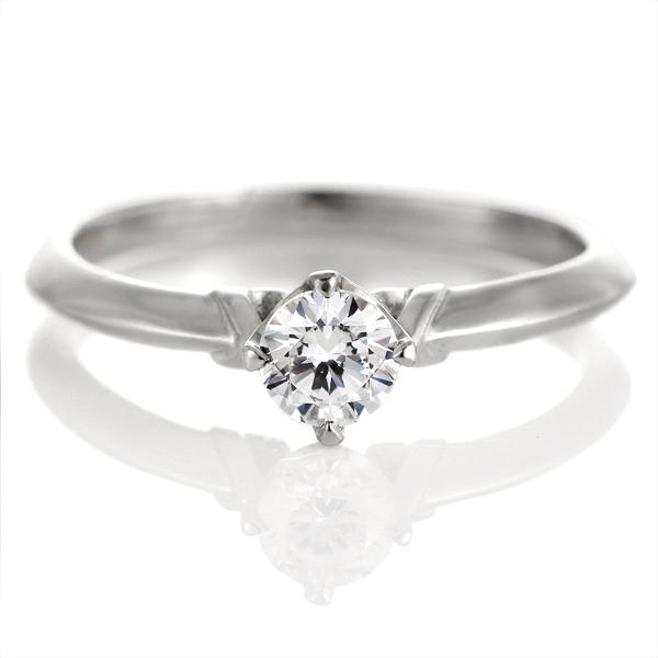 婚約指輪 ダイヤモンド プラチナ リング 0.3ct 天然石 エンゲージリング 鑑定書【DEAL】 末広 スーパーSALE【今だけ代引手数料無料】