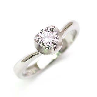 婚約指輪 ダイヤモンド リング 立爪 ダイヤ エンゲージリング ダイヤモンド ダイヤリング プラチナ900 VVS1クラス0.30ct 鑑定書付き 【DEAL】