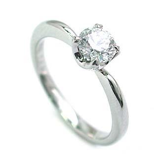 婚約指輪 ダイヤモンド リング 立爪 ダイヤ エンゲージリング ダイヤモンド ダイヤリング プラチナ900 VVS1クラス0.20ct 鑑定書付き 【DEAL】