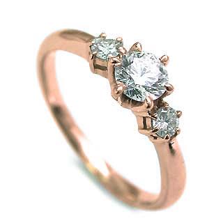 婚約指輪 ピンクゴールド婚約指輪 人気婚約指輪 刻印無料婚約指輪 エンゲージリング婚約指輪 ダイヤモンド婚約指輪 【DEAL】