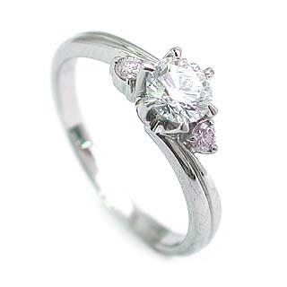 エンゲージリング 婚約指輪 ダイヤモンド ダイヤ ホワイトゴールド リング VVS1クラス0.20ct 鑑定書付 【DEAL】