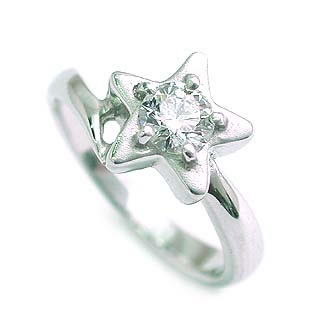 婚約指輪 エンゲージリング ホワイトゴールド ダイヤモンド ダイヤ リング VVS1クラス 0.20ct 鑑定書付