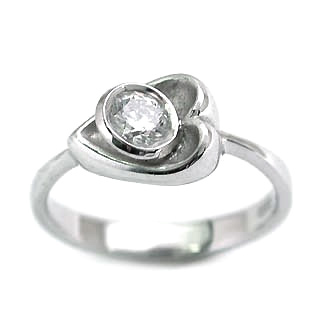 婚約指輪 エンゲージリング プラチナ ダイヤモンド ダイヤ リング SIクラス 0.30ct 鑑定書付