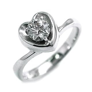 婚約指輪 エンゲージリング ホワイトゴールド ダイヤモンド ダイヤ リング SIクラス 0.20ct 鑑定書付