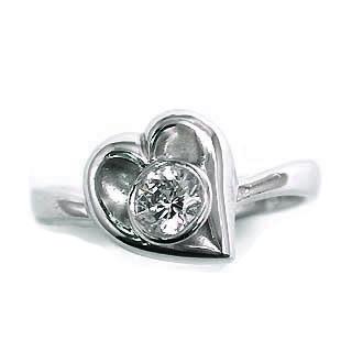 婚約指輪 エンゲージリング ホワイトゴールド ダイヤモンド ダイヤ リング VSクラス 0.30ct 鑑定書付 【DEAL】