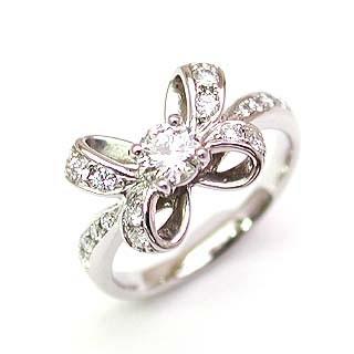 婚約指輪 エンゲージリング ホワイトゴールド ダイヤモンド ダイヤ リング VSクラス 0.30ct 鑑定書付 【DEAL】 末広 スーパーSALE
