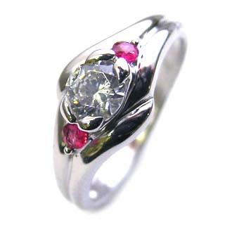 【 新品 】 エンゲージリング 婚約指輪 ダイヤモンド ダイヤ プラチナ プラチナ リング ダイヤモンド ルビー ダイヤ 0.33ct, ハンドメイドレザーショップK3:6878fc67 --- mirandahomes.ewebmarketingpro.com
