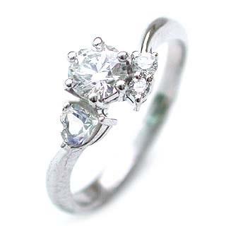 CanCam掲載( 婚約指輪 ) ダイヤモンド エンゲージリング( 6月誕生石 ) ムーンストーン