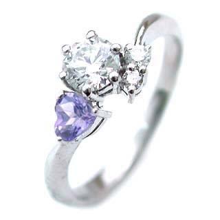 CanCam掲載( 婚約指輪 ) ダイヤモンド エンゲージリング( 12月誕生石 ) タンザナイト【DEAL】