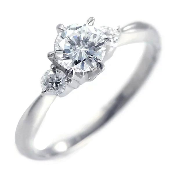 ( 婚約指輪 ) ダイヤモンド エンゲージリング( 4月誕生石 ) ダイヤモンド