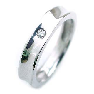 ( K18WG )ダイヤモンドペアリング【DEAL】
