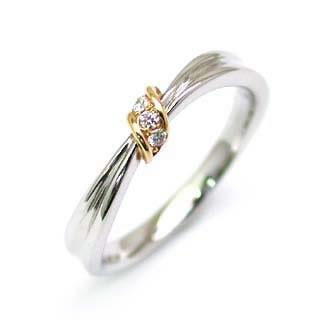(Brand アニーベル) K18ダイヤモンドペアリング