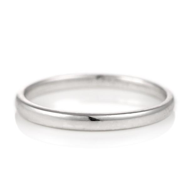 プラチナ 結婚指輪 デザイン ストレート