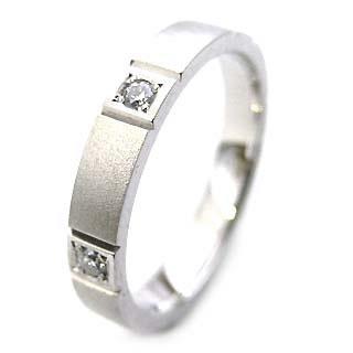 プラチナ リング プラチナ Pt ( Brand Jewelry ニナリッチ ) Pt ペアリング