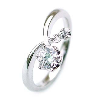 (Brand Jewelry fresco) Pt ダイヤモンドリング(婚約指輪・エンゲージリング) 末広 スーパーSALE【今だけ代引手数料無料】