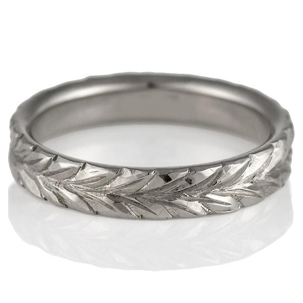 メンズリング ( Brand Jewelry KAPILINA ) MAILE・K18ホワイトゴールドレディスペアリング【DEAL】 末広 スーパーSALE【今だけ代引手数料無料】