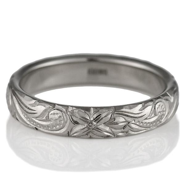 ( Brand Jewelry KAPILINA ) PUALANI・K18ホワイトゴールドメンズペアリング
