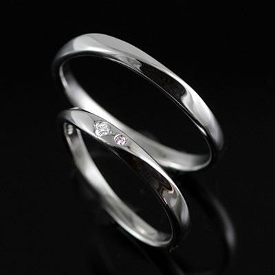 ペアリング プラチナ Pt ( Brand Jewelry TwinsCupid ) プラチナ900ダイヤモンド(ブーケトス)【DEAL】 末広 スーパーSALE