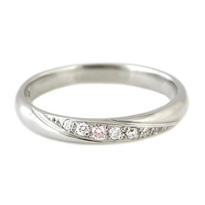 プラチナ Pt ( Brand Jewelry TwinsCupid ) プラチナ900ダイヤモンドレディスリング(ミルキーウェイ)