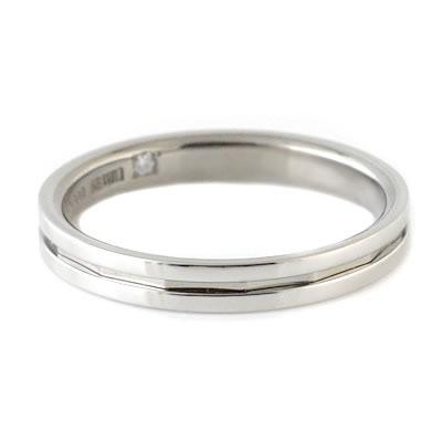 プラチナ Pt ( Brand Jewelry TwinsCupid ) プラチナ900ダイヤモンドメンズリング(ラブアロー)