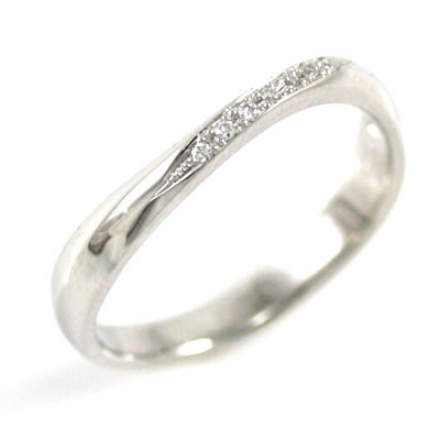 ペアリング プラチナ Pt プラチナ900 ダイヤモンド 結婚指輪
