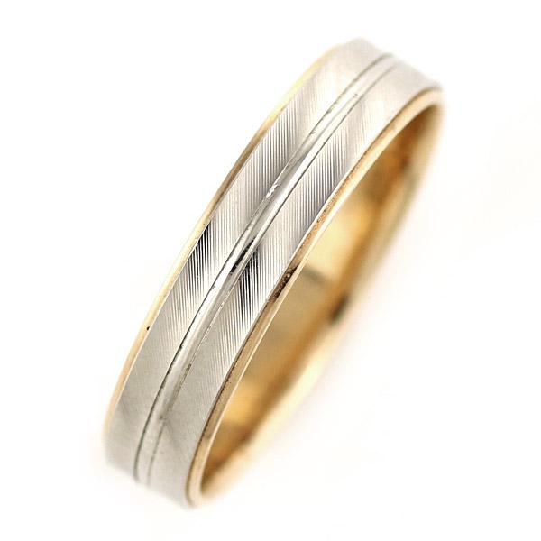 ペアリング ( Brand Jewelry Oferta ) プラチナ950・K18ピンクゴールド(結婚指輪)