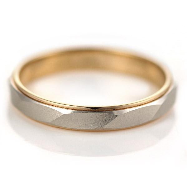 ペアリング ゴールド リング ( Brand Jewelry Oferta ) プラチナ950・K18ピンクゴールド ペアリング(結婚指輪)