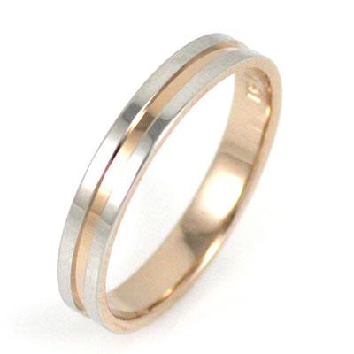 ( Brand Jewelry Oferta ) プラチナ950・K18ピンクゴールドペアリング(結婚指輪) 末広 スーパーSALE【今だけ代引手数料無料】