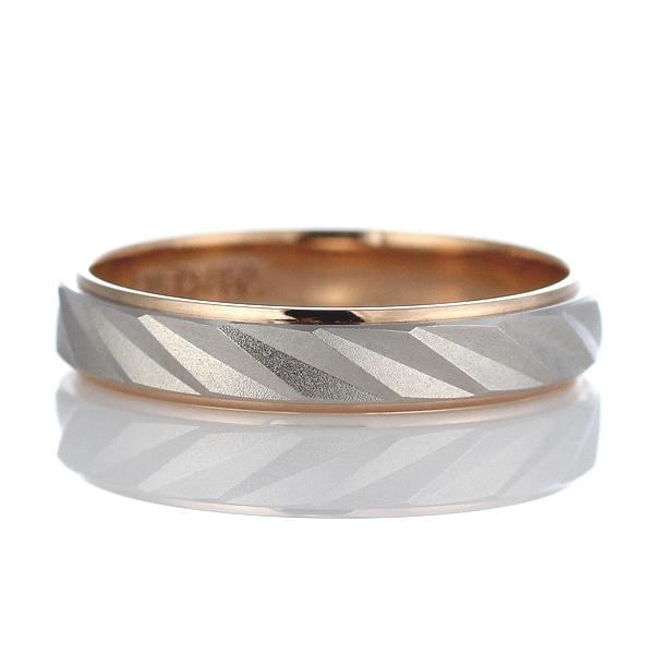 Brand Jewelry Oferta プラチナ950 K18ピンクゴールドペアリング 結婚指輪 【DEAL】