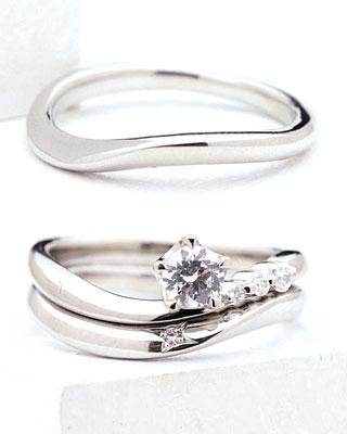 ( Brand Jewelry fresco ) プラチナ ダイヤモンドリング(婚約指輪・結婚指輪)エンゲージ マリッジ セット 3本【DEAL】 末広 スーパーSALE【今だけ代引手数料無料】