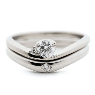 ( Brand Jewelry fresco ) プラチナ ダイヤモンドリング(婚約指輪・結婚指輪) 【DEAL】 末広 スーパーSALE【今だけ代引手数料無料】