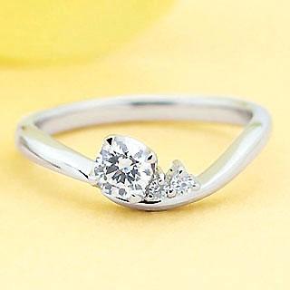 ( Brand Jewelry fresco ) プラチナ ダイヤモンドリング(婚約指輪・結婚指輪) 末広 スーパーSALE【今だけ代引手数料無料】