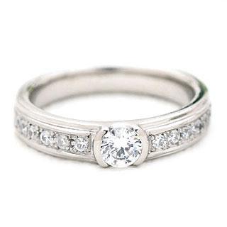 婚約指輪 ( Brand Jewelry fresco ) プラチナ ダイヤモンドリング(婚約指輪・結婚指輪) 末広 スーパーSALE